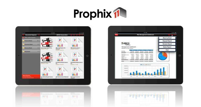 Prophix 11 download resources and webinar