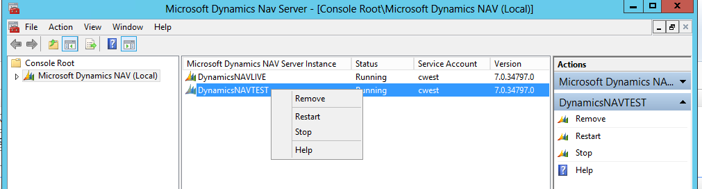 How To Reboot Your Dynamics NAV Service (6 Steps) | Encore