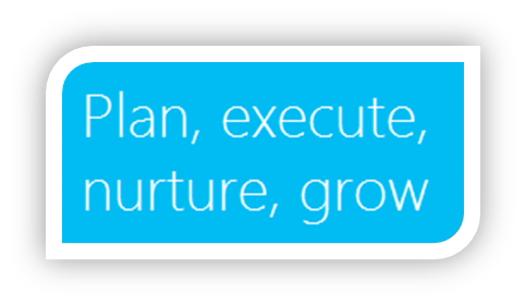 Plan, execute, nurture and grow your business with Microsoft Dynamics CRM MarketingPilot.