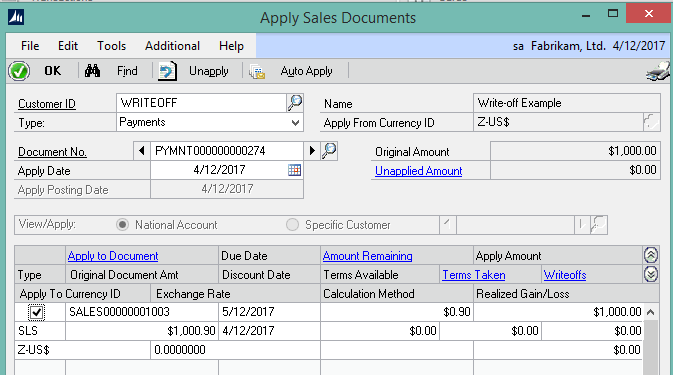 Using Write-Offs in Microsoft Dynamics GP to Keep AR Clean