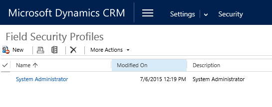 Field Level Security in Microsoft Dynamics CRM | Encore