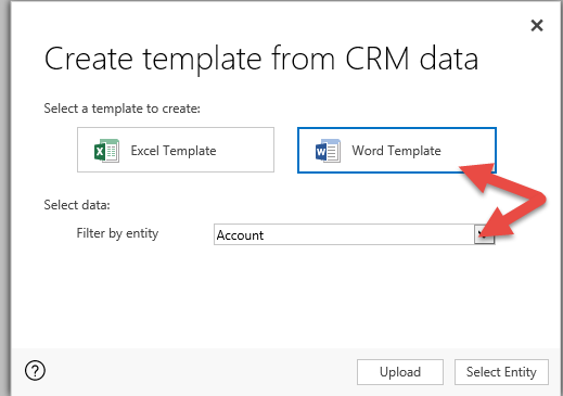 Word Templates in Microsoft Dynamics CRM | Encore Business