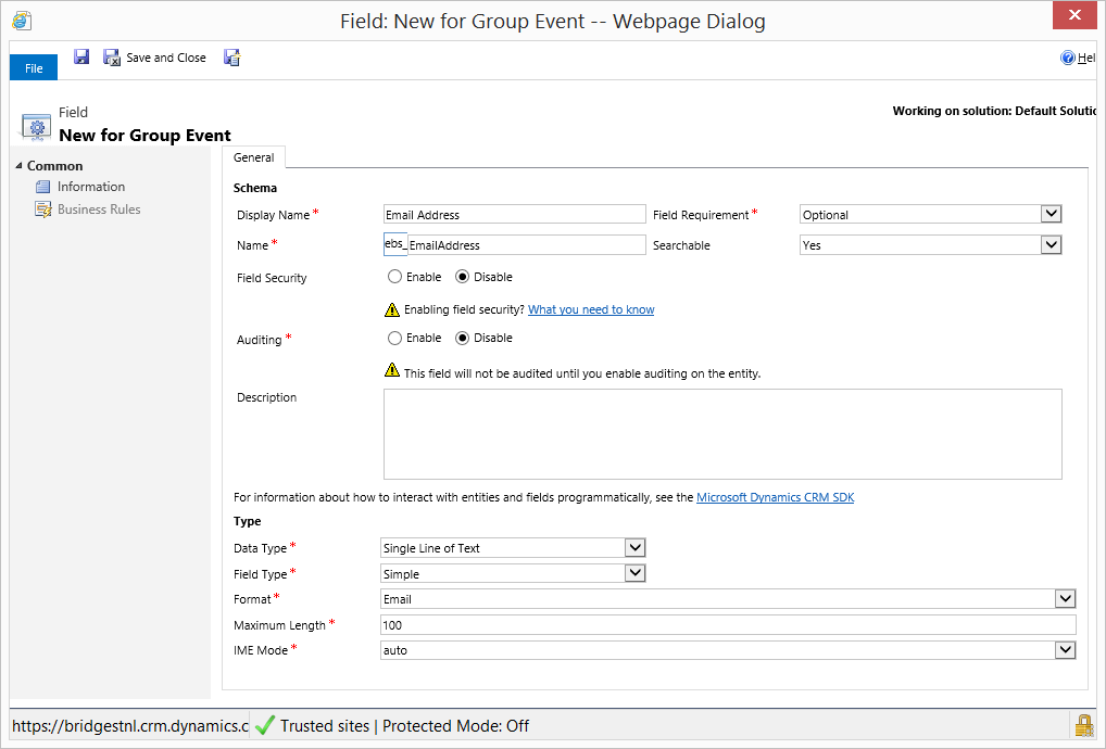 7 Useful Data Field Types In Dynamics Crm Encore Business Solutions