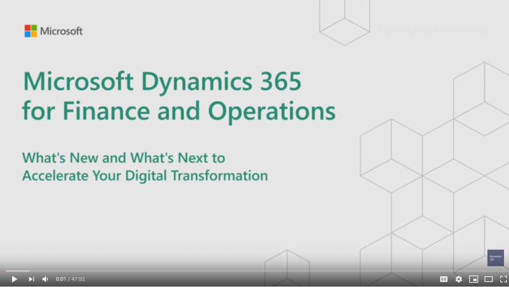 dynamics 365 for finance and operations partner encore
