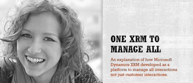 One Microsoft Dynamics XRM Partner to Manage All