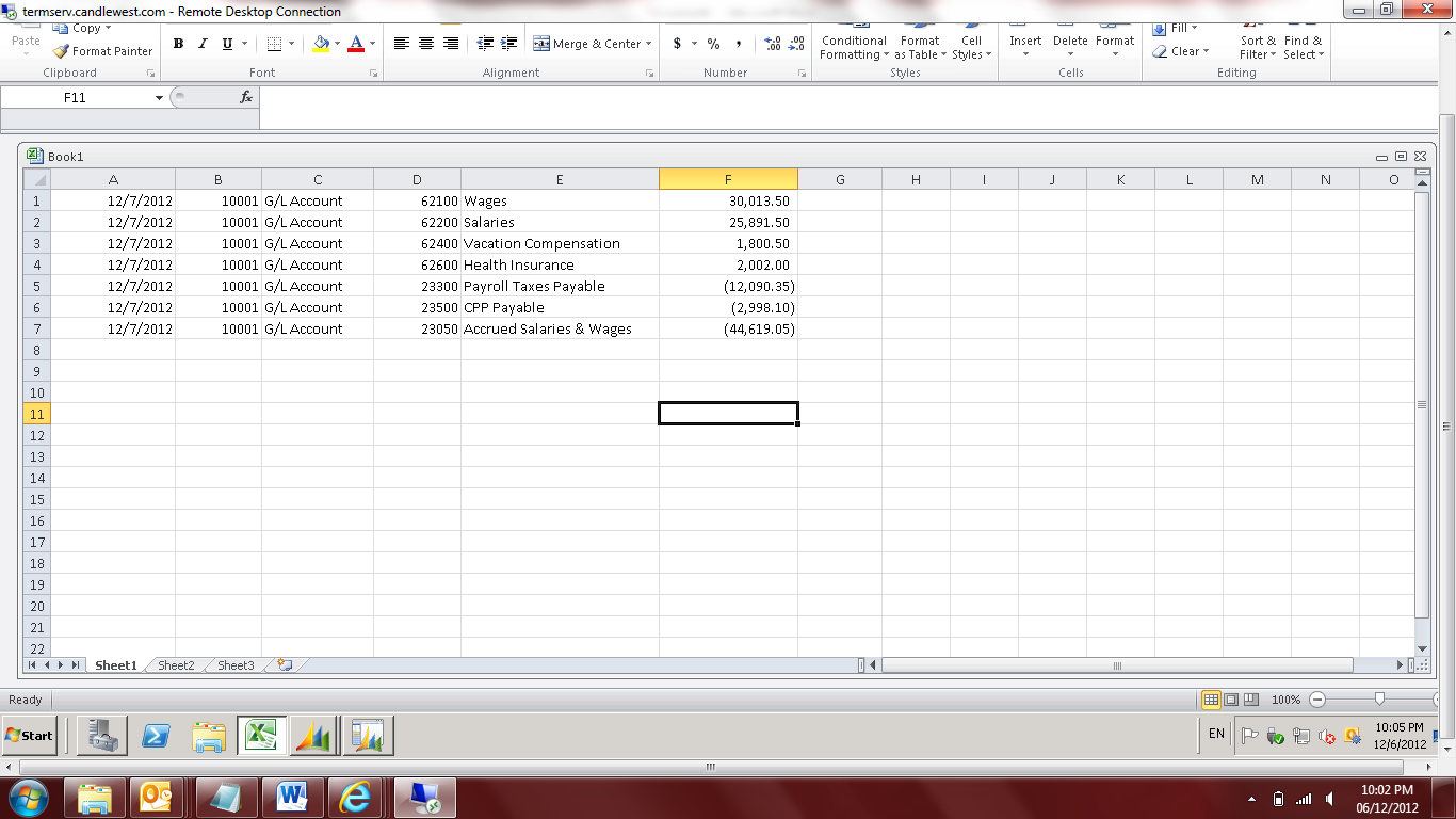Copying And Pasting From Excel Into Dynamics Nav Encore