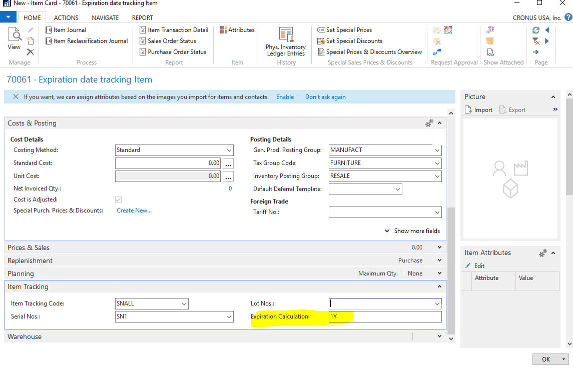 Expiration Date Tracking in Dynamics NAV | Encore Business