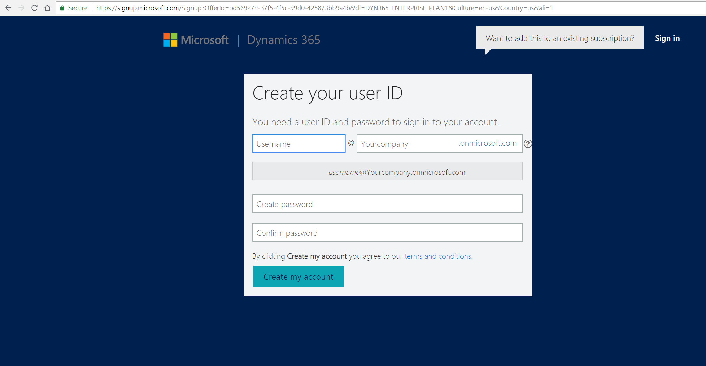 Setting up a Trial Instance for Talent Management in Dynamics 365