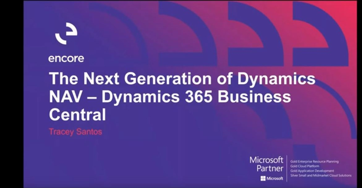 The Next Generation of Dynamics NAV - Dynamics 365 Business Central