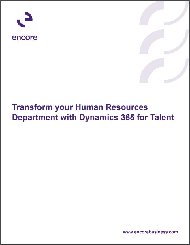 D365 Talent