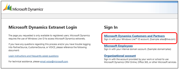 microsoft work account sign in