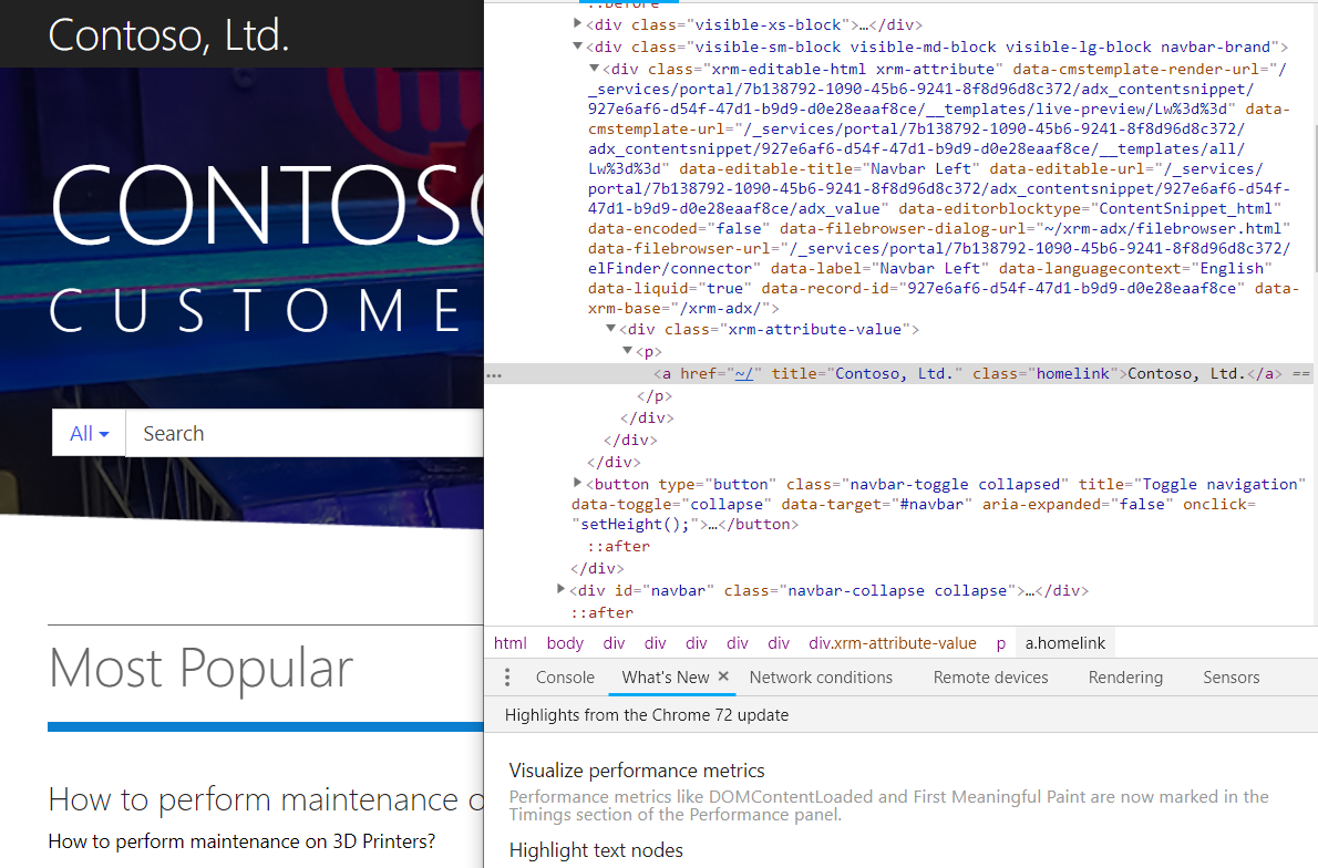 Portals in Dynamics 365 | CSS | Encore Business Solutions