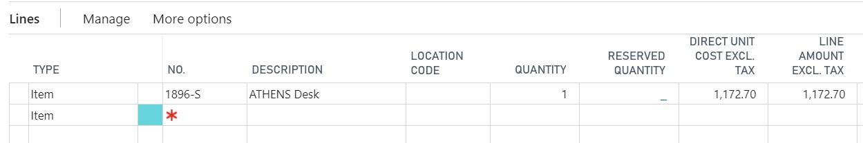 Drop Shipment - Sales Order