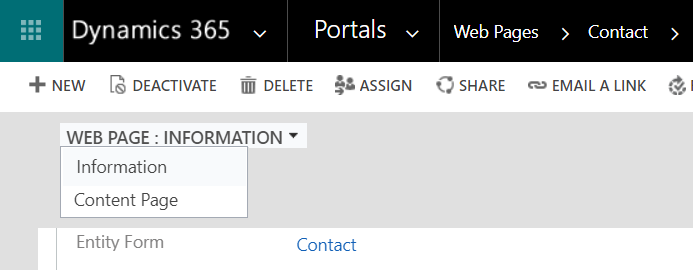 Portals in Dynamics 365 | Web Pages 1A | Encore Business