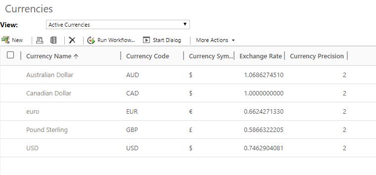 Exchange Rate MS Flow