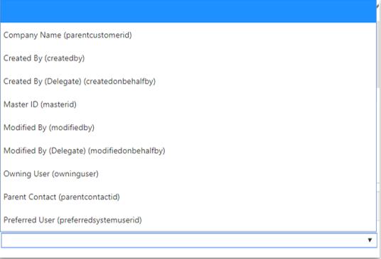 Entity Lists