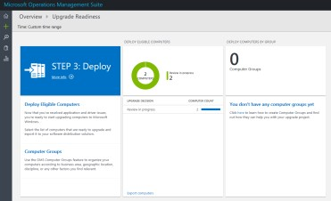 Windows 7 - Deployment of Upgrade