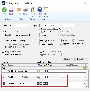 Dynamics GP New Feature - Payroll