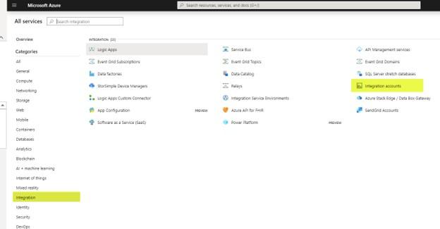 Dynamics 365 F&O - Azure Integration Account