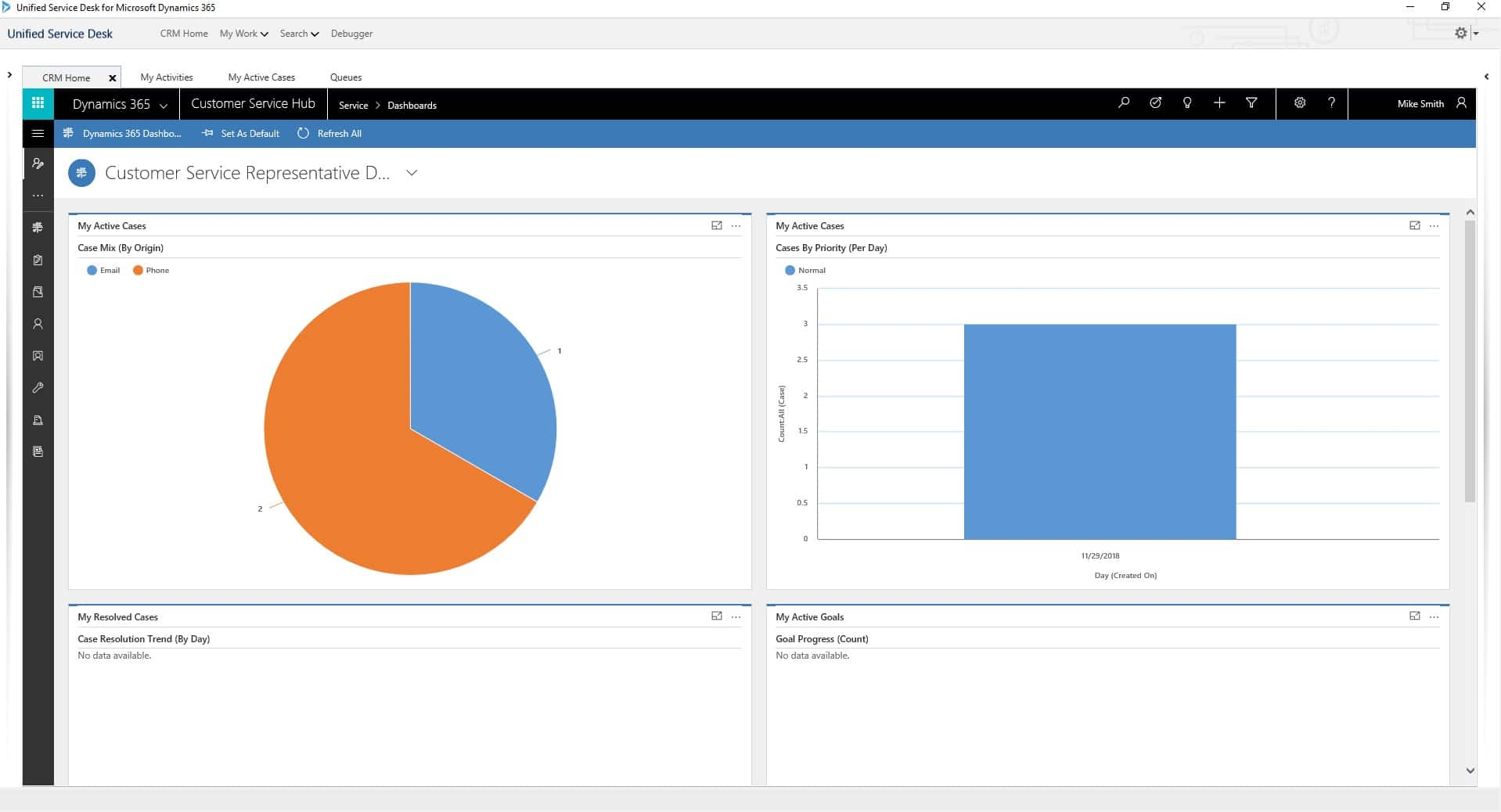 Dynamics 365 Customer Engagement UCI Interface