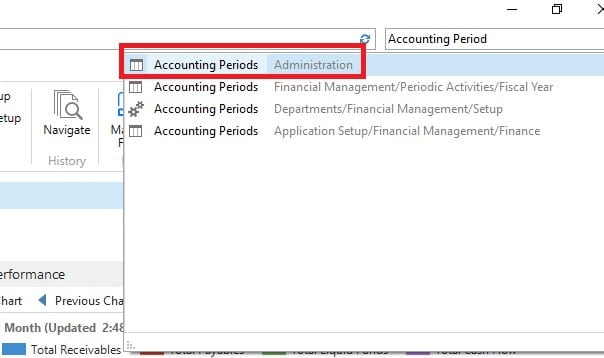Year-end Process D365 BC & NAV - Account Periods